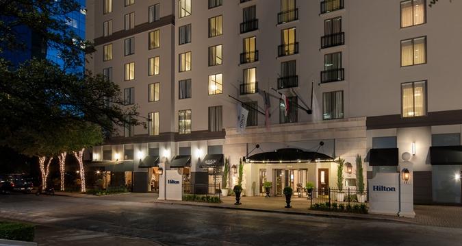 Hilton hotel in Dallas